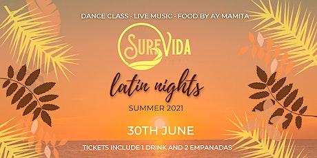Latin Nights @ Surf Vida tickets