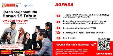 IUMW Virtual Undergraduate Preview - UMCCed tickets