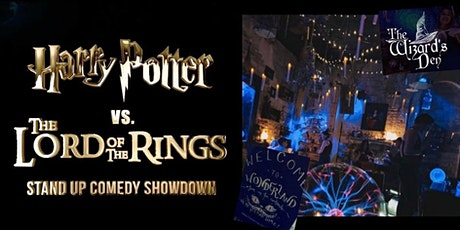 Harry Potter vs Lord of the Rings stand-up comedy showdown tickets