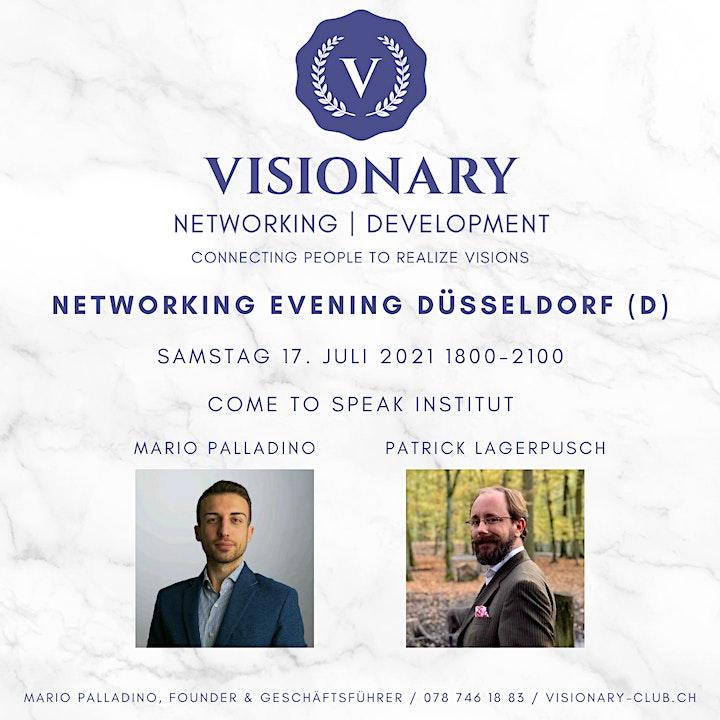 Visionary Networking Abend Düsseldorf: Bild