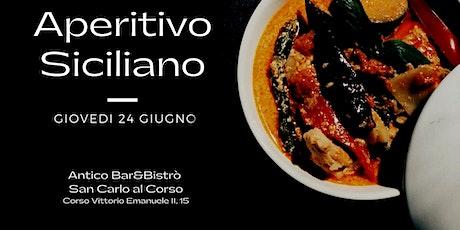 APERITIVO SICILIANO in Piazza Duomo a MILANO ! biglietti