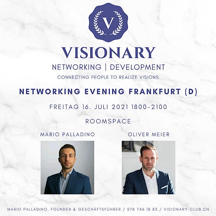Visionary Networking Abend Frankfurt: Bild