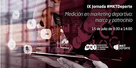 IX jornada de Marketing Deportivo entradas