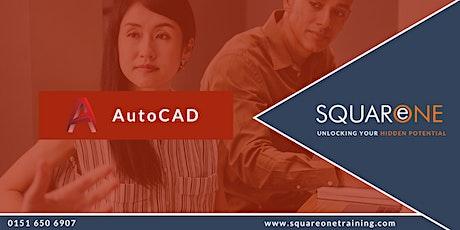 AutoCAD Essentials: Foundation (Level 1) - Online Training tickets