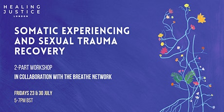 Somatic Experiencing and Sexual Trauma Recovery tickets