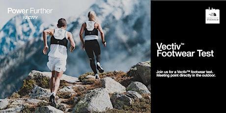 Never Stop Stockholm - VECTIV footwear testing tickets
