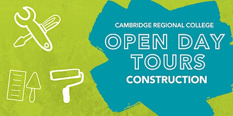 Construction Open Day Tours tickets