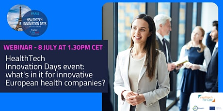HTID event: what's in it for innovative European health companies? tickets