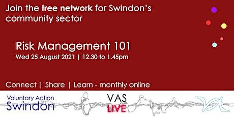 VAS-LIVE - Risk Management 101 biglietti