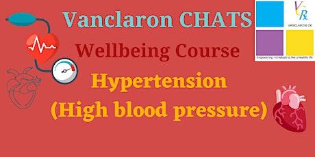 Hypertension (High blood pressure) tickets