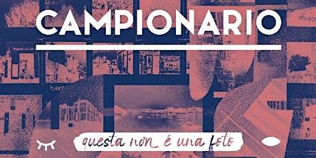 """""""CAMPIONARIO"""" biglietti"""