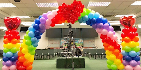 Professional Balloon Decoration Workshop in Singapore tickets