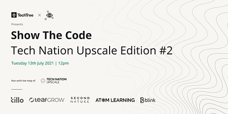 Show The Code   Tech Nation Upscale Edition #2 tickets