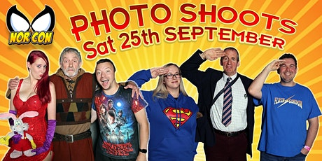 NORCON - Saturday 25th Sept PHOTOSHOOTS tickets