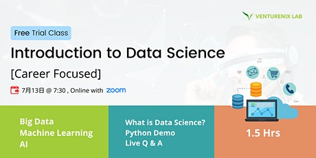 Free Online Class: Introduction to Data Science with Python (Cantonese) tickets
