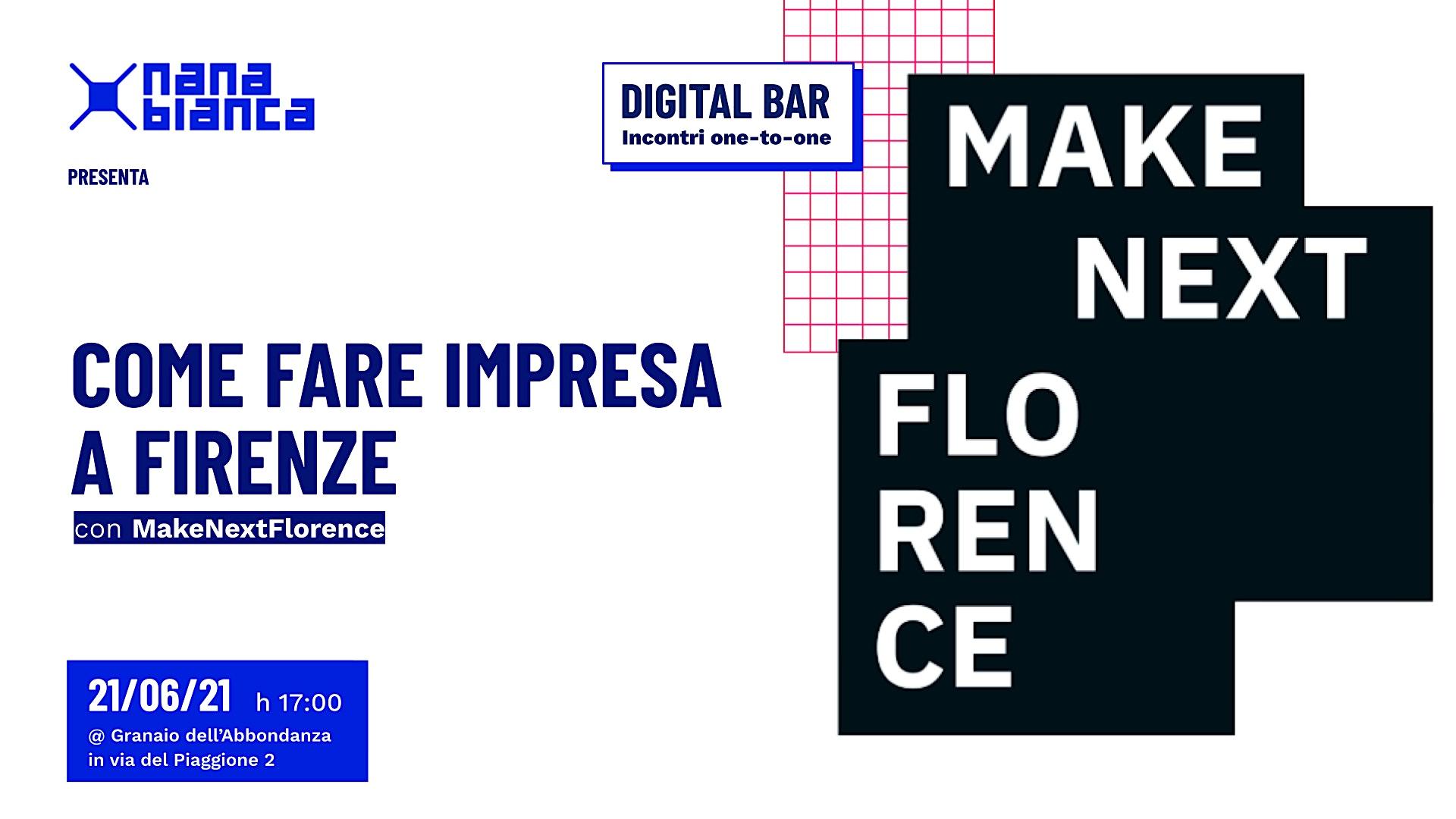 Digital Bar: Scopri come fare impresa a Firenze!