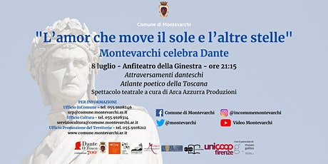 Attraversamenti Danteschi - Atlante Poetico della Toscana biglietti