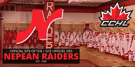 CCHL Nepean Raiders 2021 Prospect Evaluation Camp billets