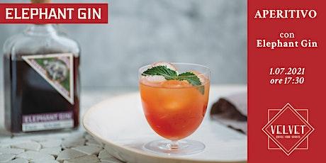 Aperitivo con Elephant Gin | Velvet Cafe biglietti