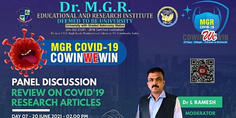 PANEL DISCUSSION - Review on Covid'19 Research Articles tickets