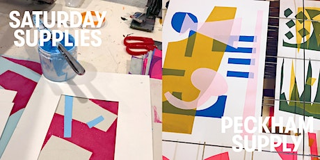 Saturday Supplies: Screen Printing With Jonathan Lawes tickets