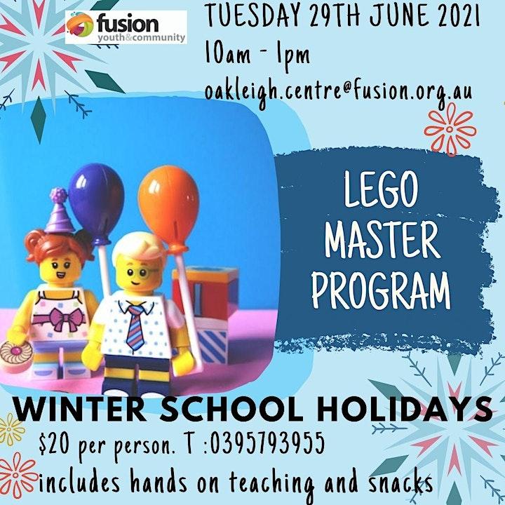 LEGO Master School Holiday Program image