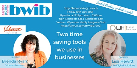 BWIB Networking Event - 2 Useful Software Tools tickets