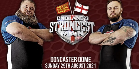 England's Strongest Man 2021 tickets