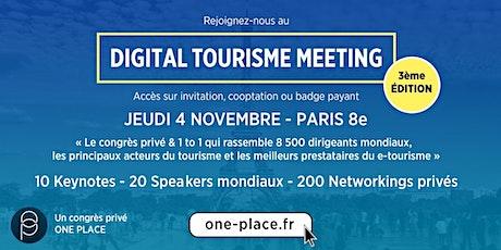 DIGITAL TOURISME MEETING 2020 - édition 3  #etourisme billets