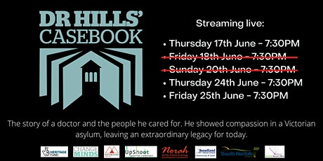 Dr Hills' Casebook Film Screening tickets