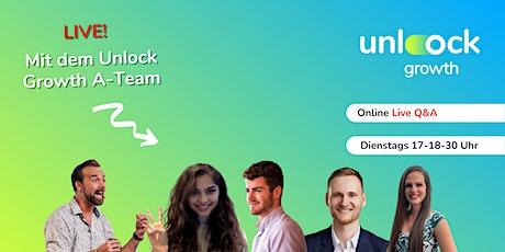 Unlock Growth Masterclass für Wachstumswillige Tickets