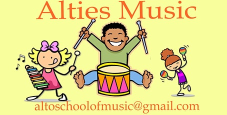 Alties Music. Music class for your baby tickets