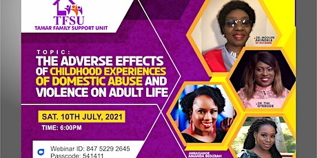 Adverse Effects of Childhood Experiences of Domestic Abuse on Adult Life tickets