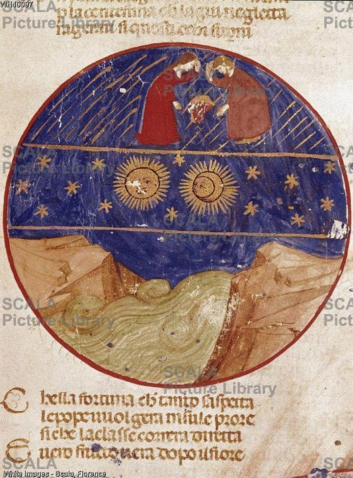 Immagine Dante scienziato: la Quaestio de aqua et terra.