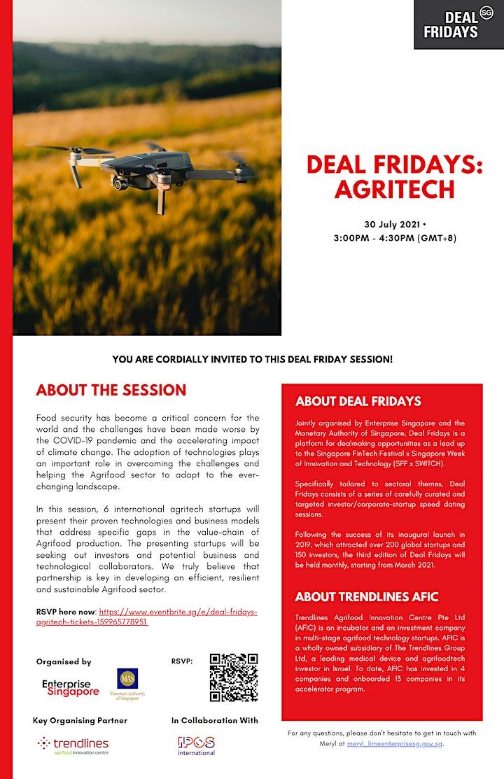 Deal Fridays: Agritech image