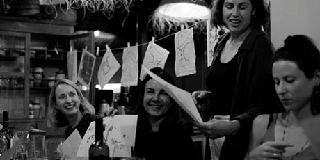 Drink & Draw at ONDA  Cocktail Bar bilhetes