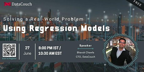 Solving a Real-World Problem using Regression Models tickets