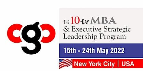 The CgC | 10-Day MBA & Executive Strategic Leadership Program tickets