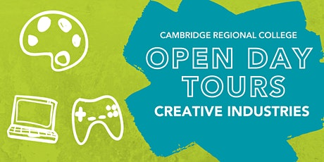 Creative Industries Open Day Tours tickets