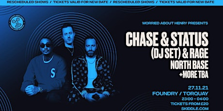 Chase & Status at The Foundry Torquay tickets