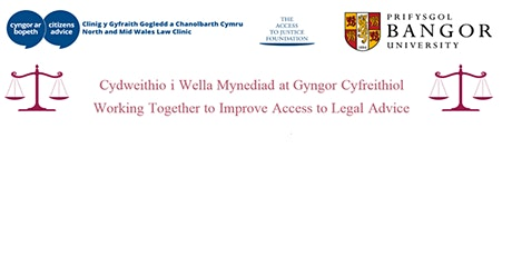 North and Mid Wales Law Clinic Family Advice Providers Event tickets