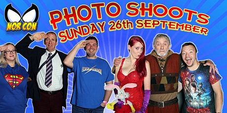 NORCON - Sunday 26th Sept PHOTOSHOOTS tickets