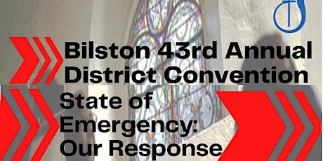 Bilston District Annual Conference tickets