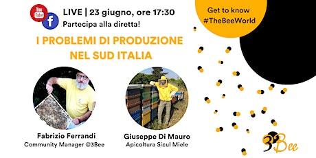 Stagione apistica 2021: i problemi di produzione nel Sud Italia biglietti