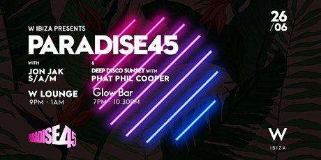 Paradise 45 - Deep Disco Sunset tickets