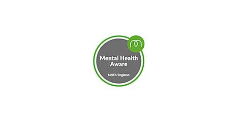 Mental Health First Aid Workshop - Half Day tickets
