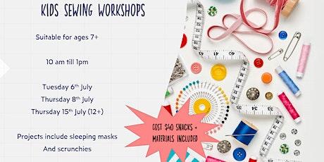 Kids Sewing Workshop tickets