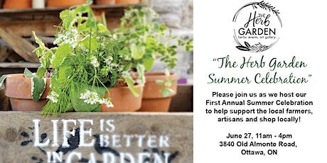 Summer Celebration Rural Market at the Herb Garden tickets