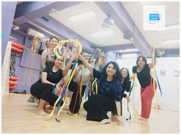 Dance Movement Therapy Workshop for Mind-Body Wellness image
