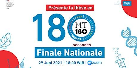 Concours Ma Thèse en 180 secondes - Finale billets